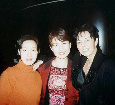 Judy Rafat in Schanghai