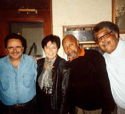 Judy Rafat mit Claudio Roditi, Kenny Barron & Rufus Reid, New York 1997