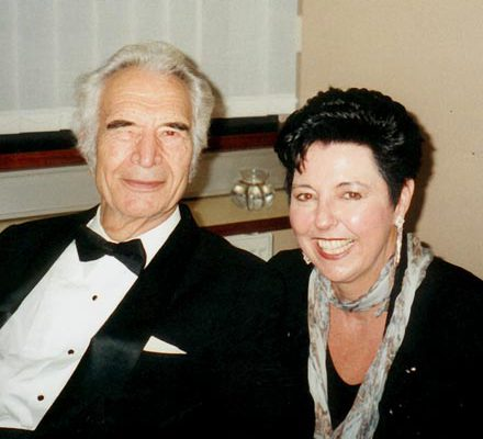 Judy Rafat mit Dave Brubeck