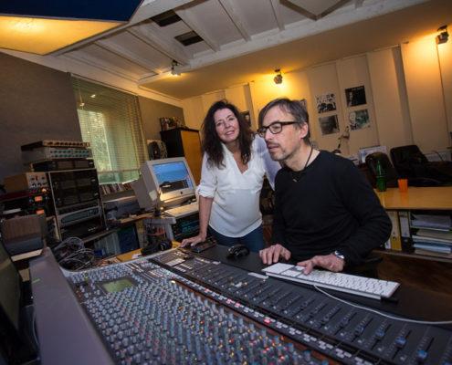 Studio Aufnahme Weihnachtsalbum, Foto: Zoltan Leskovar