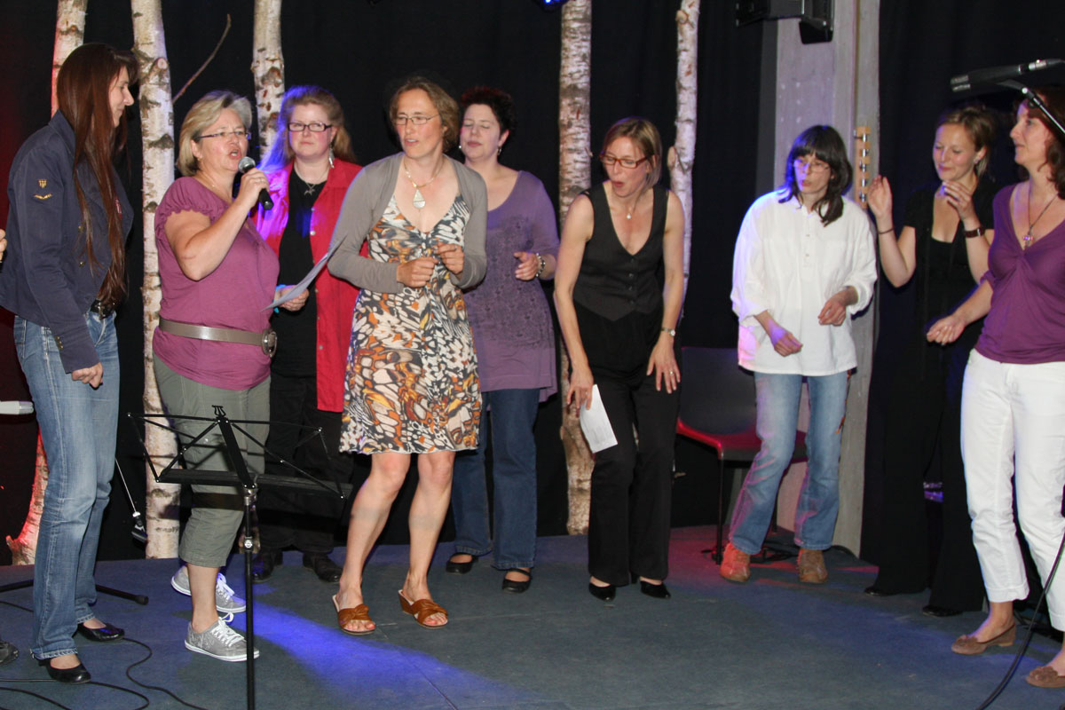 Vocal Workshop bei Judy Rafat