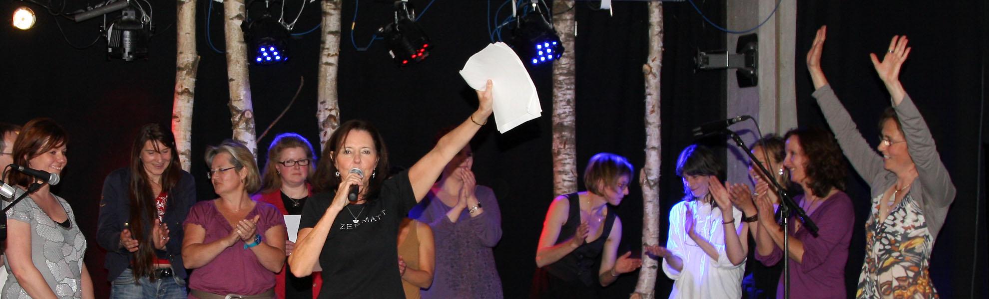Vocal Workshops mit Judy Rafat