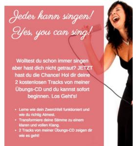 Freebie - Hol dir zwei kostenlose Tracks von Judys Übungs-CD