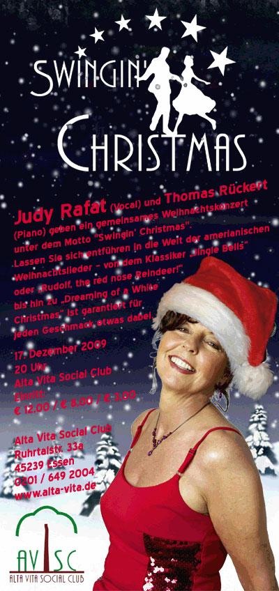 Judy Rafat - Konzert Swingin Christmas