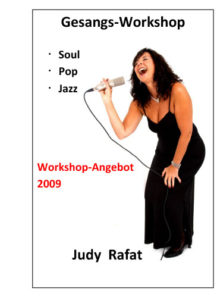 Workshop Soul Pop Jazz mit Judy Rafat